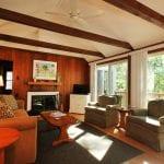 Huntington Cottage Hyannis Cape Cod Living Room