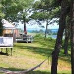 Captain Kelly Cottage Deck View