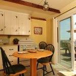 Main Sail Cottage Kitchen And View