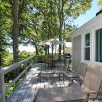 Merrow Cottage Deck Wide View