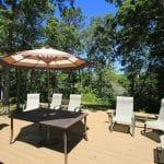 Sinclair Cottage Deck