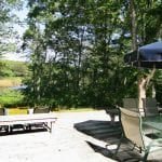 Sinclair Cottage Deck And View