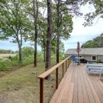 Watkins Cottage Deck And View